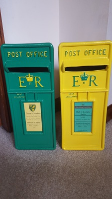 They have arrived! The NCFC Home or Away themed Royal Mail Style