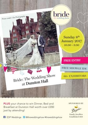 Dunston Hall to kick 2017 off!