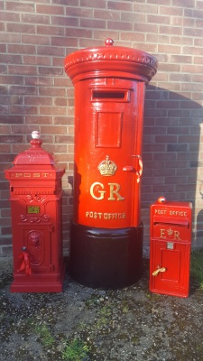 Our post boxes even got involved with Red Nose Day 2017!