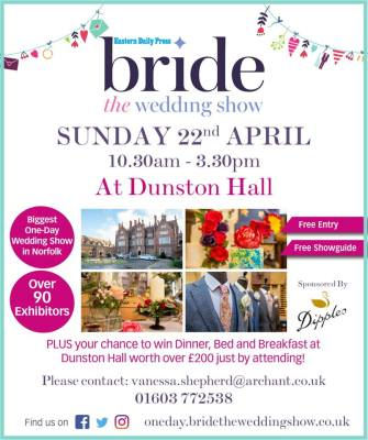 Dunston Hall Wedding Show this Sunday!