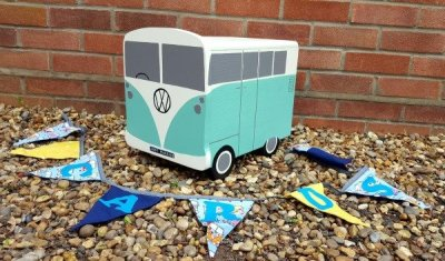 Camper Van Wedding Post Box Hire